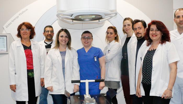 Göğüs Hastanesi Radyoterapi Ünitesi Gece Mesaisinde