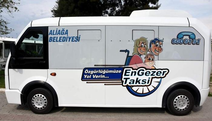 Engezer Taksi engel tanımıyor
