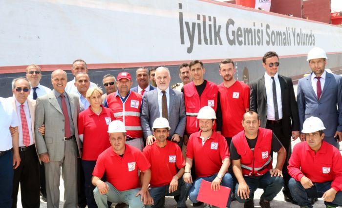 Kızılay Somali, Yemen ve Sudan'a yardım gönderiyor