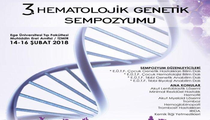 """Hematolojik Genetik Sempozyumu"""